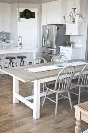 kitchen design fabulous farmhouse dining table with bench