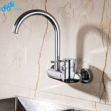 Kitchen Wall Mount Faucet Wall Mount Single Handle Kitchen Faucet Promotion Shop For