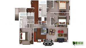 3d Floor Plans by 3d Luxury Floor Plans Design For Residential Home Yantramstudio