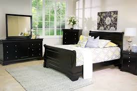 the versailles bedroom collection in black mor furniture for less