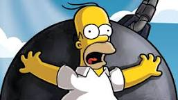 Homero borracho ebrio en pedo y fumado