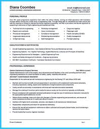 Aircraft Maintenance Engineer Resume Example  Engineering Manager Resume  Apartment Maintenance Supervisor Resume   SlideShare