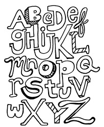 alphabet coloring pages printable letters abc alphabet coloring