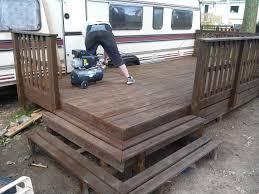 terasse en palette terrasse mobil home objet et meuble en palette meubles