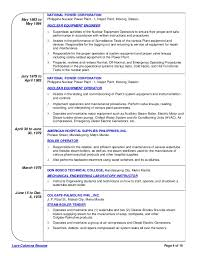 Examples Of Hvac Resumes by Nuclear Engineer Sample Resume 21 Uxhandy Com