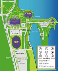 North Shore Chicago Map by Directions U0026 Transportation Soldierfield Net