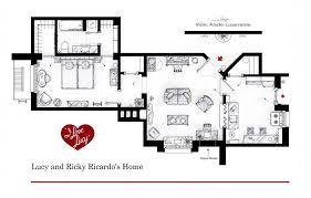 742 Evergreen Terrace Floor Plan Floor Plans Of Tv U0027s Best Sitcom Apartments 25 Photos