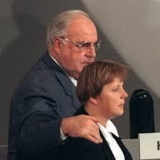 Kohl e la Merkel