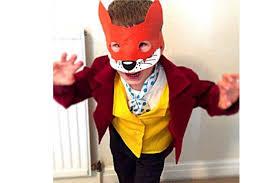 fantastic mr fox costume netmums