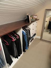 How To Make Closet Shelves by 26 Creative And Smart Attic Storage Ideas To Try Shelterness