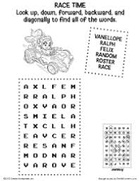 free printable wreck ralph activities earlymoments