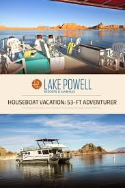 Lake Powell Map The Adventurer Economy Houseboat Available For Rent At Lake