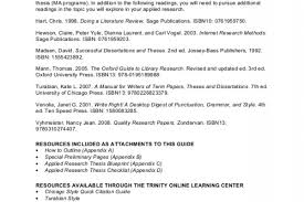 thesis dissertation
