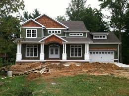 Craftsman Home Interiors Brown Craftsman Homes Functional Option For Home Decorating