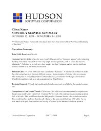 example executive summary report Documents