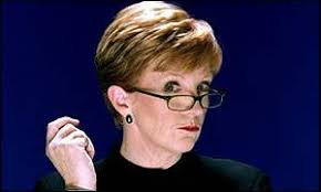 Mean TV: Anne Robinson is famous for her putdowns - _1108416_anne_robinson_bbc300