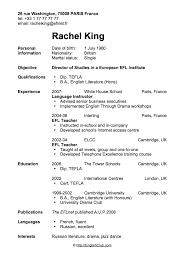 resume cv sample cv resume sample examples of cv professional
