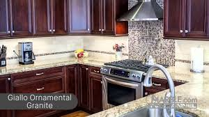 Top Of The Line Kitchen Cabinets Top 5 Granites For Dark Cabinets Youtube