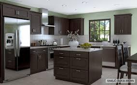 Dark Kitchen Cabinets With Backsplash Kitchen Remodeling Wonderful Ikea Kitchen With Grey Granite