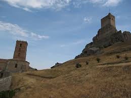 El camino del Cid a su paso por Atienza (Aragón)
