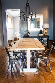 How To Decorate Your Dining Room Table Turn An Old Door Into Your New Dining Room Table Our Home U0026 On