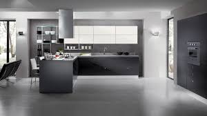 Glass Shelves Kitchen Cabinets Amazing Futuristic Kitchen Design With Grey Cabinet And Kitchen