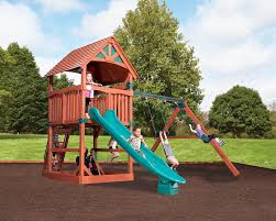 Cedar Playsets 104 Best Cedar Playgrounds Images On Pinterest Swing Sets Beams