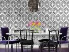 Create a Bold Dining Room With Wallpaper : Rooms : Home & Garden ...