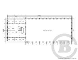 decloet indoor riding arena with fabric roof with attached barn