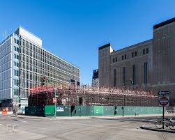 Metropolitan Shed Tower O U0027 Garbage Nearly Complete Salt Shed Starts Rising Curbed Ny