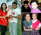 actress jyothika childhood photos