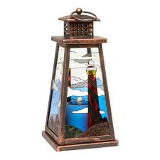 Decorative Lighthouses For In Home Use Lighthouse Solar Light Lantern Christmas Tree Shops Andthat