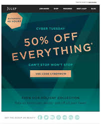 which website has the best black friday deals 8 awesome black friday cyber monday email campaigns you can steal
