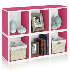 Cube Storage Shelves Way Basics Modular 6 Cube Tall Bookcase Hayneedle