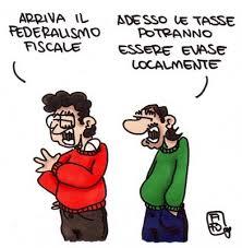 Vignetta federalismo fiscale