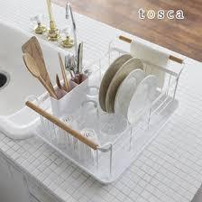 Rupola Rakuten Global Market Dish Drainer Basket Tosca Dish - Kitchen sink dish rack
