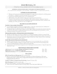 Sample Resume Objectives When Changing Careers by Resume Objective Examples Career