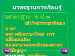 """งานนำเสนอ""""สื่อช่วยสอน กลุ่มสาระการเรียนรู้ ภาษาไทย สาระ หลักการใช้ ..."""