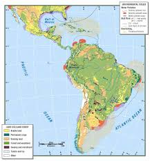 South America River Map by Middle And South America Map Roundtripticket Me