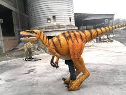 Dinosaur Halloween Costumes Velociraptor Halloween Costume U2013 Animatronic Dinosaur Costume