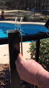 Solar Fence Lighting by Aluminum Fence Post Light Installation Youtube