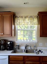 kitchen valances on kitchen window valances window treatments