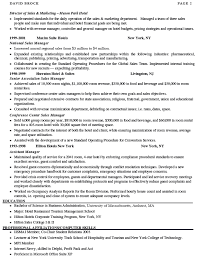 Area Sales Manager Resume Sample by Sales Manager Resume Sample Marketing