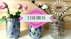 Recycle Home Decor Ideas Diy 3 Recycling Jar Ideas Jar Crafts For Home Decor By Fluffy