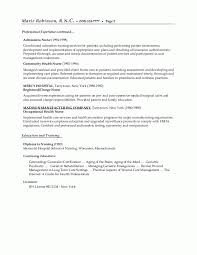 Example Resume  Objective Statement For Nursing Resume  admissions     Binuatan
