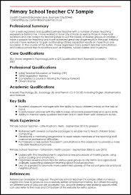 Teacher Resume Template  resume template teacher sample resume
