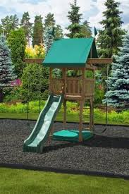 Backyards For Kids by How To Landscape Under A Swing Set Helpfulhowtos