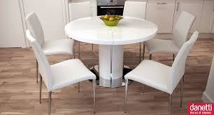 dining room dining room with outstanding white expandable dining