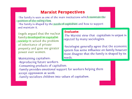 Marxist views of the family   sociologytwynham com sociologytwynham com passed on heirs     as parents living in a monogamous relationship would know who impregnated whom    This way it was an ideal mechanism for the proof of