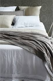 crellini orba bedcover linen crochet lace pinterest grey